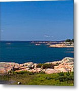 Georgian Bay Coastline Metal Print