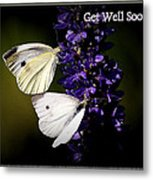 Get Well Soon Metal Print