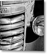 Gmc Truck Grille Emblem Metal Print
