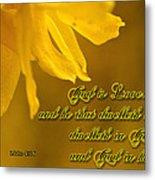 God Is Love Metal Print by Larry Bishop