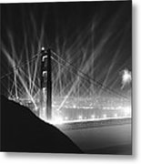 Golden Gate Bridge Opening Metal Print