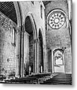 Gothic Monastery Metal Print