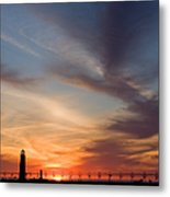 Grand Haven Lighthouse Metal Print
