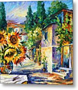 Greek Noon Metal Print