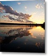 Greenlake Sunset Metal Print