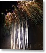 Guy Fawkes Night At Gloucester Quay. Metal Print