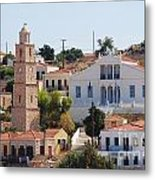 Halki Island Greece Metal Print