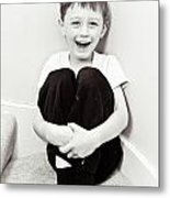 Happy Child Metal Print