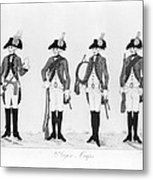 Hessian Soldiers Metal Print