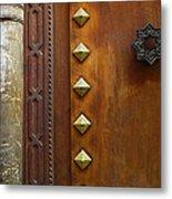Historic Door Metal Print