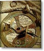 .historical Navigation Metal Print