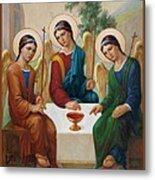 Holy Trinity - Sanctae Trinitatis Metal Print