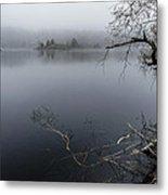 Hosmer Pond In Camden Maine Metal Print
