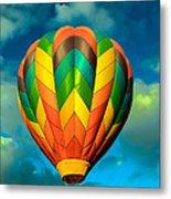 Hot Air Balloon Metal Print by Robert Bales