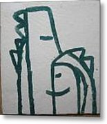 Hugs - Tile Metal Print