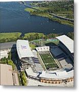 Husky Stadium At The University Metal Print