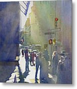 I Saw The Light At 44th And Broadway Metal Print