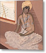 Illustration For Kim By Rudyard Kipling Metal Print