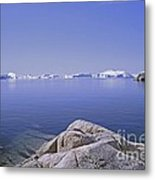 Ilulissat Icefjord Greenland Metal Print
