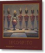 Incognito Metal Print by Leonard Filgate