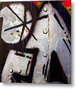 Industrial Detail Metal Print