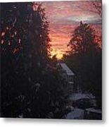 January Sunrise From Civill Avenue Metal Print