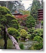 Japanese Tea Garden - Golden Gate Park Metal Print