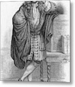 Jean De La Bruyere  French Writer Metal Print