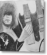 Jimmy Page Metal Print