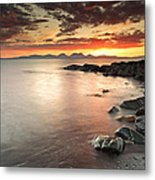 Jura Sunset Metal Print