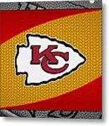 Kansas City Chiefs Metal Print by Joe Hamilton