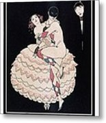 Karsavina Metal Print by Georges Barbier