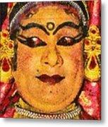 Katakali Actor In India Metal Print