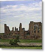 Kenilworth Castle Panorama Metal Print