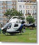 Kent Air Ambulance Metal Print