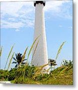 Key Biscayne Lighthouse Metal Print