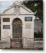 Key West Cemetery Metal Print