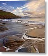 Kinnard Beach Metal Print