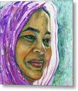 Lady From Bangladesh Metal Print