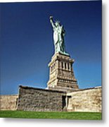 Lady Liberty 2 Metal Print