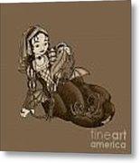 Lady Merewalds Pets Metal Print