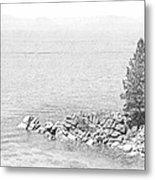 Lake Tahoe Rocky Point Metal Print