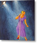 Latina Jazz Diva Metal Print
