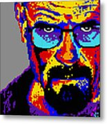 Lego Walter White  Metal Print by Marc Orphanos
