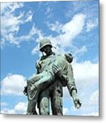 Liberation Monument Metal Print