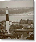 Lighthouse - Atlantic City Metal Print