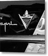 Lincoln Capri Emblem Metal Print by Jill Reger