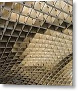 Lines And Curves  Metal Print