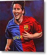 Lionel Messi  Metal Print by Paul Meijering