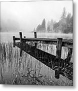 Loch Ard Early Mist Metal Print
